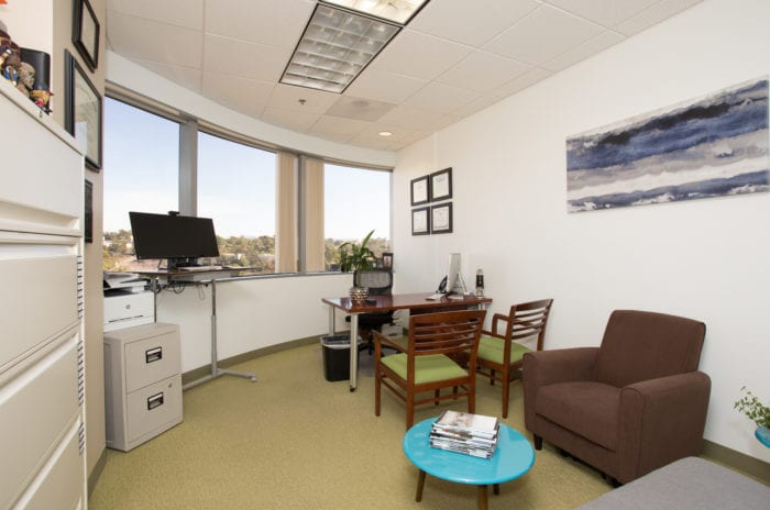 Private office space with stunning view of Laguna Niguel