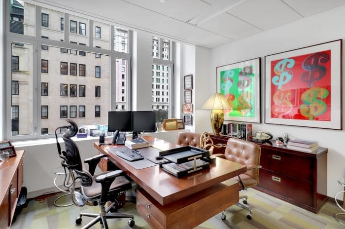 Private office space in Manhattan NYC