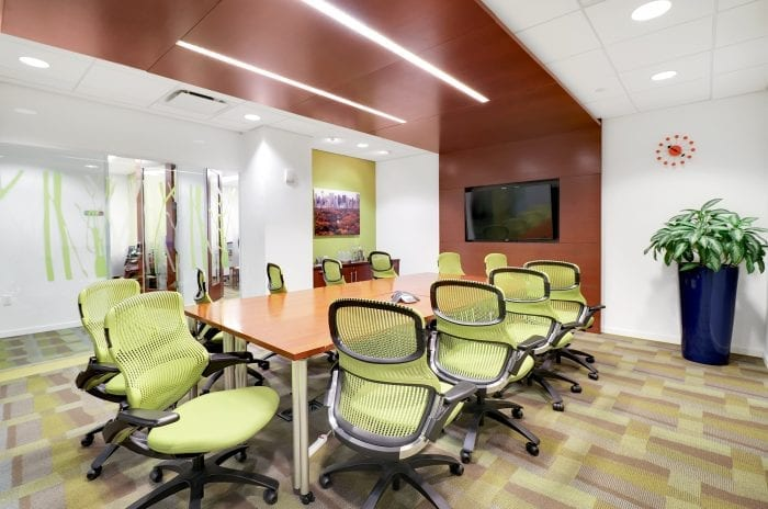 Large Central Park conference room