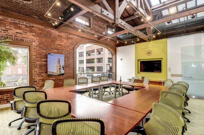 Gorgeous DC conference room at Carr Workplaces