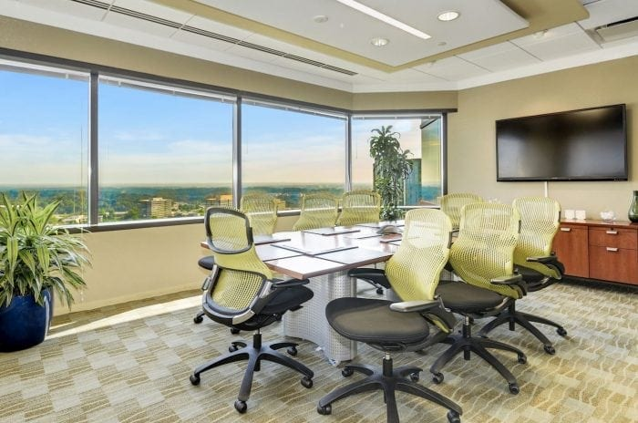 Small McLean conference room at Carr Workplaces